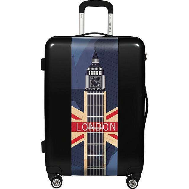 """大人気新品 旅行用品 キャリーバッグ Spinner Ugobags 31"""" London 31"""" Hardside Spinner - - Black Softside Checked NEW, 牧丘町:d1135742 --- kiefferpartner.de"""