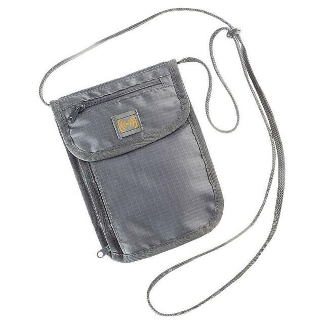 High Road 旅行用品 キャリーバッグ High Road RFID Blocking Neck Wallet - Grey Travel Wallet NEW