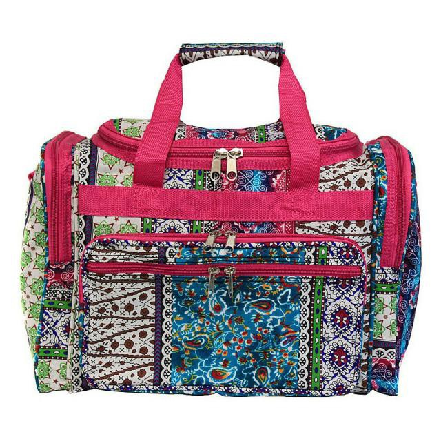 World Traveler ワールドトラベラー 旅行用品 キャリーバッグ World Traveler Artisan 19&#034 Shoulder Duffle Bag Rolling Duffel NEW