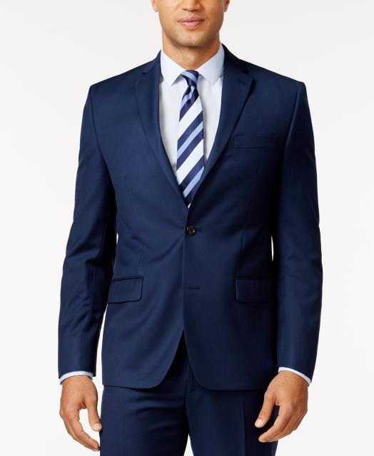 【お得】 Blazer ブレザー Blazer ファッション フォーマル Michael Kors Mens NEW NEW Blue Mens Size 42 Short Two Button Blazer Sportcoat, 100 %品質保証:6a9087e4 --- chevron9.de