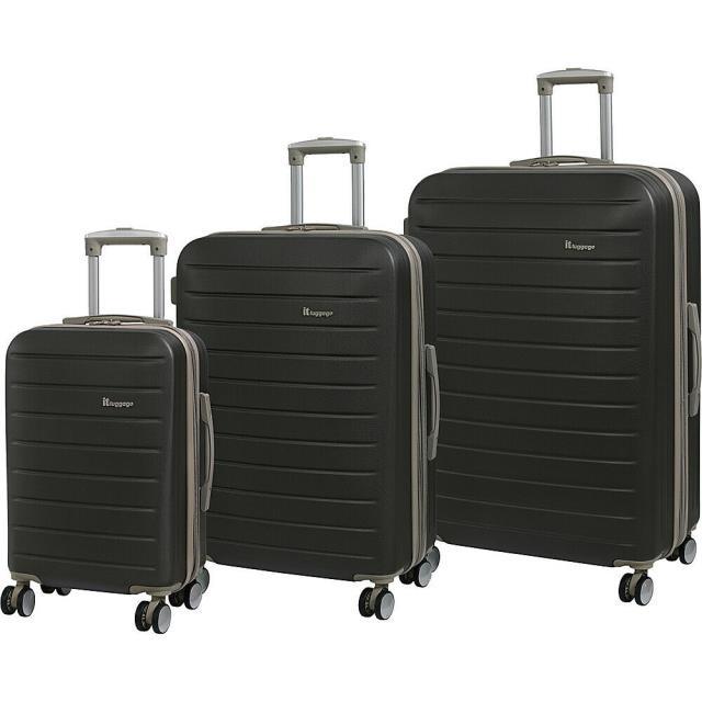 希少 黒入荷! it luggage 旅行用品 luggage キャリーバッグ it luggage Legion 8 luggage Hardside キャリーバッグ 3 Piece Luggage Set 8 Colors, カンマキチョウ:d7ef0065 --- chevron9.de