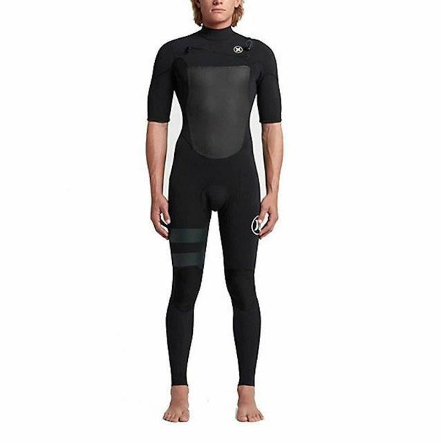 史上一番安い fusion フュージョン スポーツ用品 マリンスポーツ [MFS0000310-00AA] Mens Hurley Fusion 202 Short Sleeve Fullsuit Wetsuit, アライシ 1d70821f