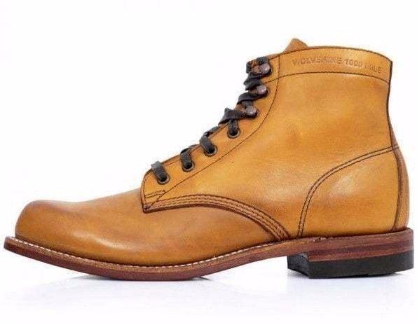 【在庫一掃】 Wolverine ウルヴァリン シューズ ブーツ Mens WOLVERINE 1000 1000 Mile Leather Boots Wolverine Boots MADE IN USA, イケベ楽器楽天ショップ:f7ef8023 --- schongauer-volksfest.de