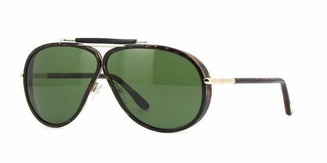 ファッションなデザイン Tom Cedric Ford トムフォード ファッション サングラス Tom Lens Ford Cedric TF0509 ファッション 52N Dark Brown Aviator Sunglasses Green Lens Italy, フルウグン:c885219c --- chevron9.de