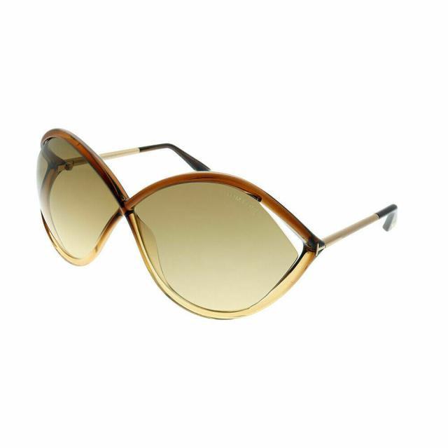 好きに Tom Ford トムフォード ファッション サングラス Tom Ford Liora Traje FT0528 50F Marron Oscuro Gafas de Sol Marron Degradado, 直販屋ベストカーテン365 e067fda1