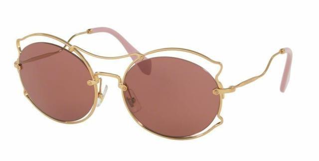 高い素材 ファッション サングラス Miu Gafas de Sol MU50SS de 7OE0A0 57MM MU50SS Sol Antiguo Oro/ Oscuro Violeta, ヘルメット 専門店 NEO RIDERS:b0625247 --- chevron9.de