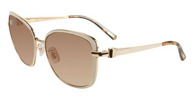 【期間限定お試し価格】 CAT H32G ファッション サングラス 69S Chopard CAT Sunglasses SCHB 69S H32G 57MM Gold Frame Brown Glasses Cat Eye, CAR LIFE:4450e01a --- zafh-spantec.de