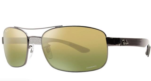 独特な店 Mirror ファッション サングラス Ray Ban Sunglasses RB8318CH 004/6O 62MM Gunmetal/Gold MIRROR POLARIZED 8, 松山市 3d4ca1a6