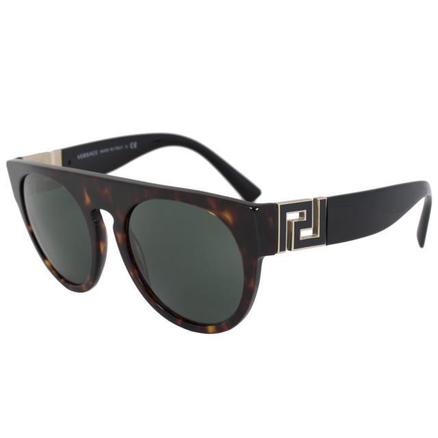世界の Frame フレーム 55MM ファッション サングラス Versace Havana Round Frame Sunglasses VE4333 108 71 55MM Havana Frame Grey Lenses, 最終値下げ:2ae3c11b --- paderborner-film-club.de