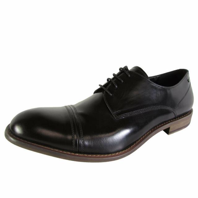 日本最大のブランド Kenneth Cole ケネスコール ファッション シューズ Kenneth Cole New York Mens Match Maker Cap Toe Oxford Shoes Black US 12, 防災防犯の専門shop岩本商事 7892dd8f