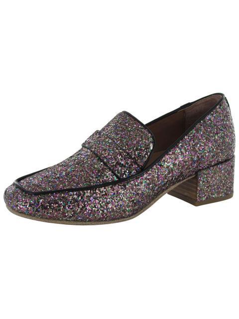 超人気の Gentle Souls ジェントルソウルズ シューズ Gentle souls women eliott block heel paillette moccasins multi us 6, 辣椒漢 7576e53b