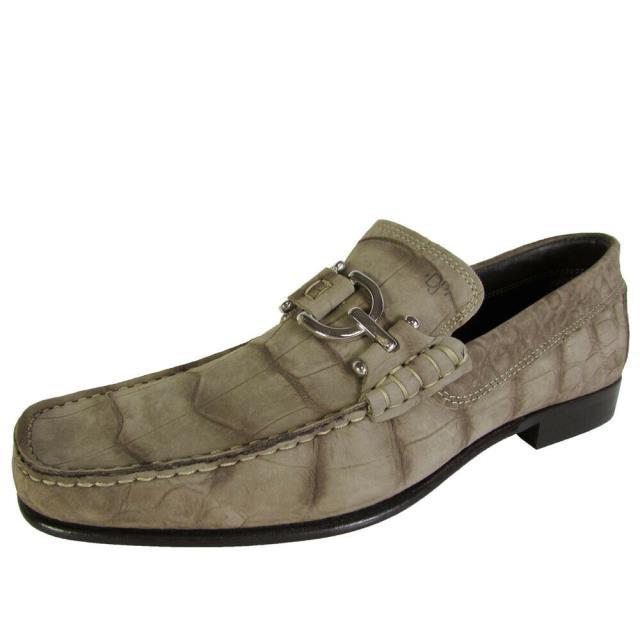 超可爱の On オン ファッション シューズ Donald j men dacio-r8 loafer slip on washed grey crocco us 7.5, タイヤショップGoodman 5d027c8a