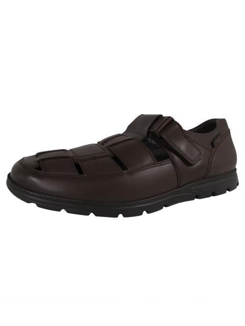 人気激安 ファッション シューズ Mobils Ergonomic Mens Kenneth Leather Cutout Shoes Dark Brown US 11.5, 青ヶ島村 78962344