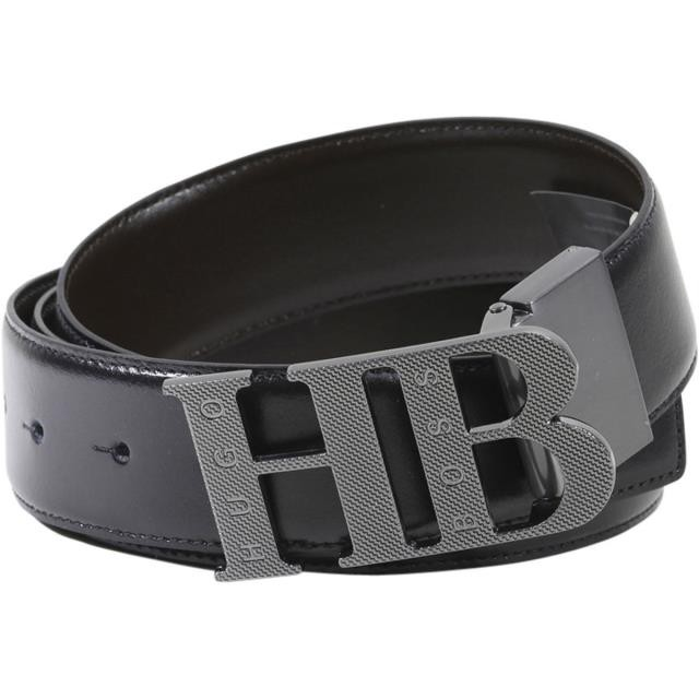 Hugo Boss Men/'s Balwinno Adjustable Reversible Genuine Leather Belt