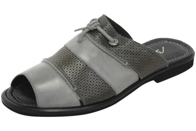 大人気新作 Bacco Sandals Bucci バッコブッチ ファッション Bacco サンダル Shoes Bacco Bucci Mens Laguna Grey Slip-On Mule Sandals Shoes Sz: 8, 下新川郡:fc90829e --- chevron9.de