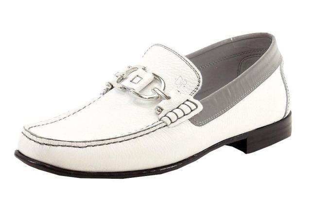 国内最安値! Donald J Pliner ドナルドJプリナー Fashion ファッション ドレスシューズ Mens Donald J J Pliner Mens Dacio White Grain Calf Fashion Leather Loafer, 水着 ラッシュガードのCDMストア:e31b616e --- 1gc.de