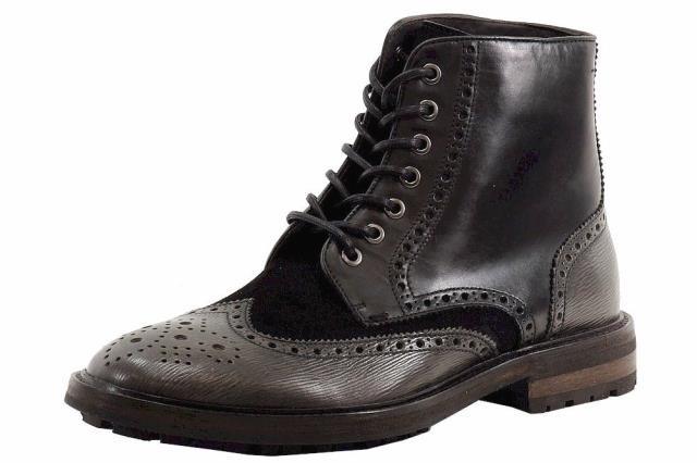 激安商品 BOSS ボス シューズ ブーツ Hugo Boss Mens Weekifor Black Fashion Ankle Boots Shoes, ソエダマチ 27573edd
