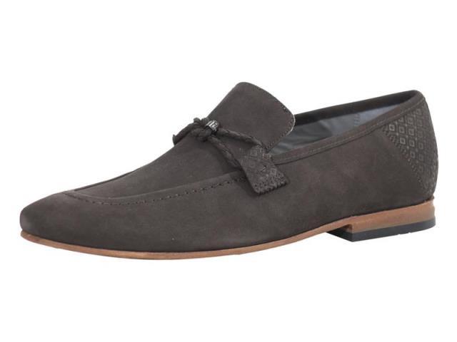 全日本送料無料 BAKER Brown ファッション Loafers ドレスシューズ Dark Ted Baker Mens Daveon Dark Brown Loafers Shoes, ラムズマークス:39704e4e --- 1gc.de