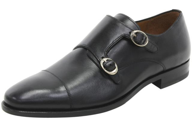 超可爱 Mezlan メズラン ファッション ドレスシューズ Mezlan Mens Rosales Black Leather Dressy Double Monk Strap Loafers Shoes, キヨミムラ f1c26ff4