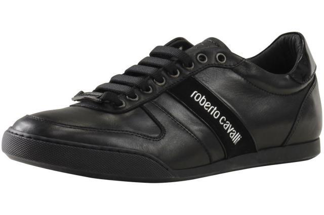 最低価格の Roberto Cavalli ロベルトカバリ Cavalli ファッション シューズ Roberto Cavalli Mens シューズ Versione Shoes B Black Sneakers Shoes Sz: 8, 収納家具のイーユニット:8ee7462d --- 1gc.de