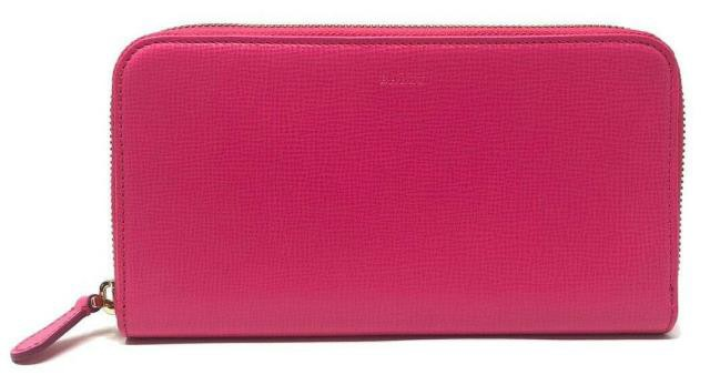 豪奢な Bally バリー ファッション 財布 Bally Womens Morissa Leather Long Wallet in Raspberry (Pink) Blush, trois HOMME 3837e432
