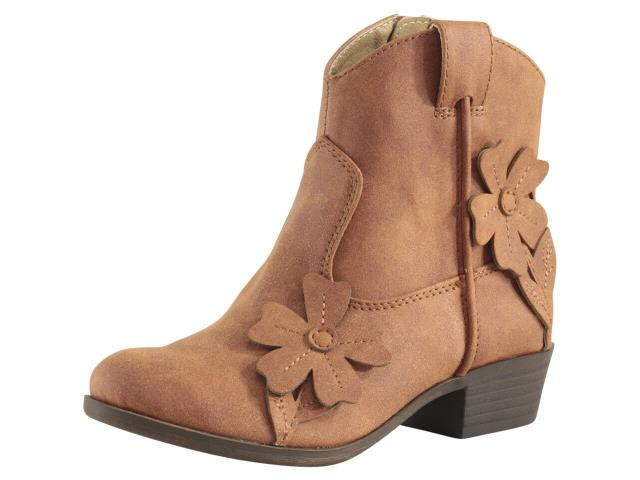 Lucky Brand Little//Big Girl/'s Bethen Gingerbread Ankle Boots Shoes
