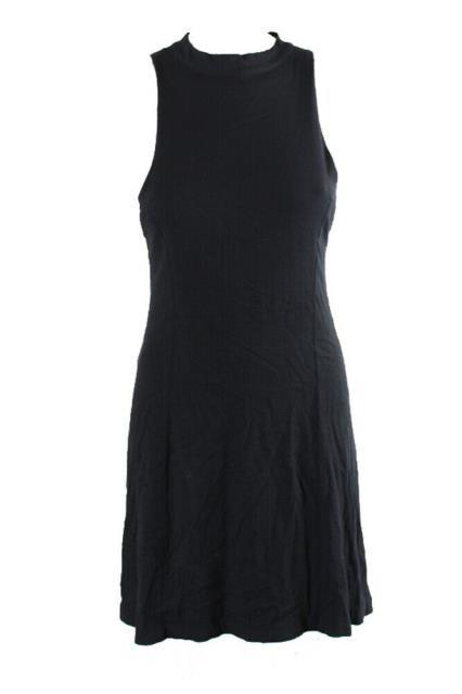 Free People フリーピープル ファッション ドレス Free People Black Sleeveless Cutout Back A-Line Dress L