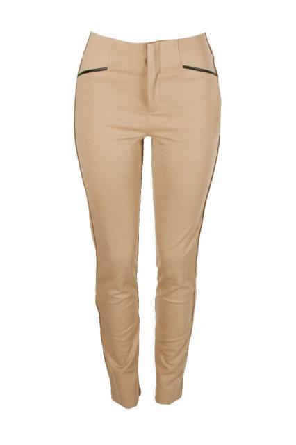 ファッション パンツ Inc International Concepts Doe Faux-Leather-Trim Short Length Curvy-Fit Pants 4S