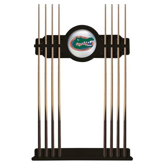 【同梱不可】 Holland Bar Stool Co. ホランド バー スツール スポーツ用品 Florida Gators Black Eight Stick Pool Cue Rack, 焼肉冷麺ヤマトshop 0a804e1b