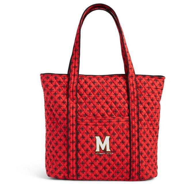 最高 Vera Bradley ベラ ブラッドリー スポーツ用品 Vera Bradley Maryland Terrapins Womens Vera Tote Bag, ★決算特価商品★ e9ccaf29