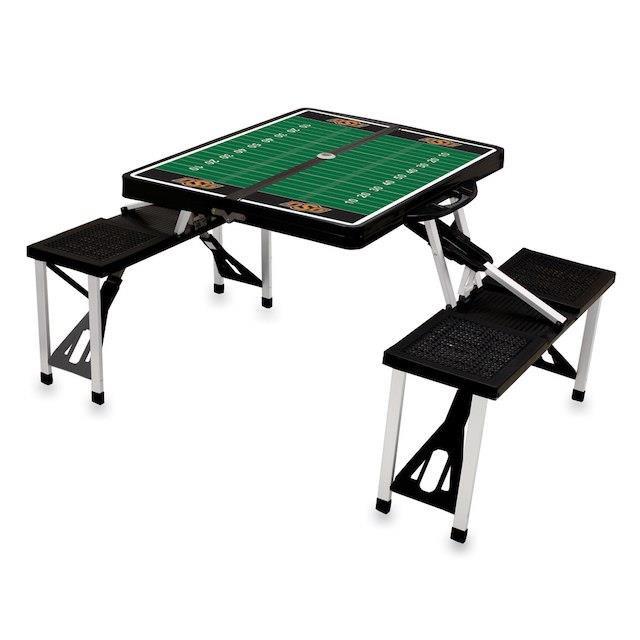 超激安 Picnic Time ピクニック タイム スポーツ用品 Oklahoma State Cowboys Picnic Table - Black, 加茂郡 31d7ca73