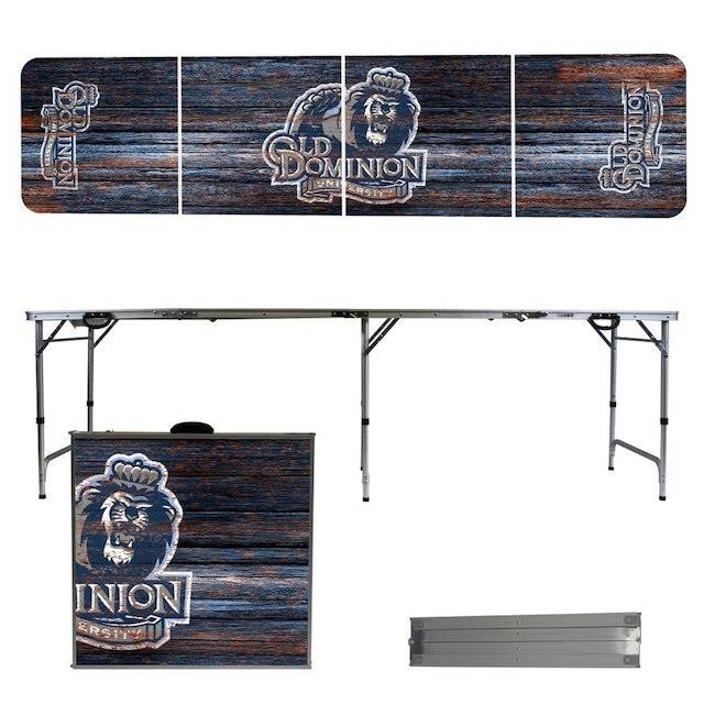 大人の上質  Victory Tailgate ビクトリー テイルゲート スポーツ用品 Old Dominion Monarchs Weathered Design 8 Portable Folding Tailgate Table, 最新作 9248ffd9