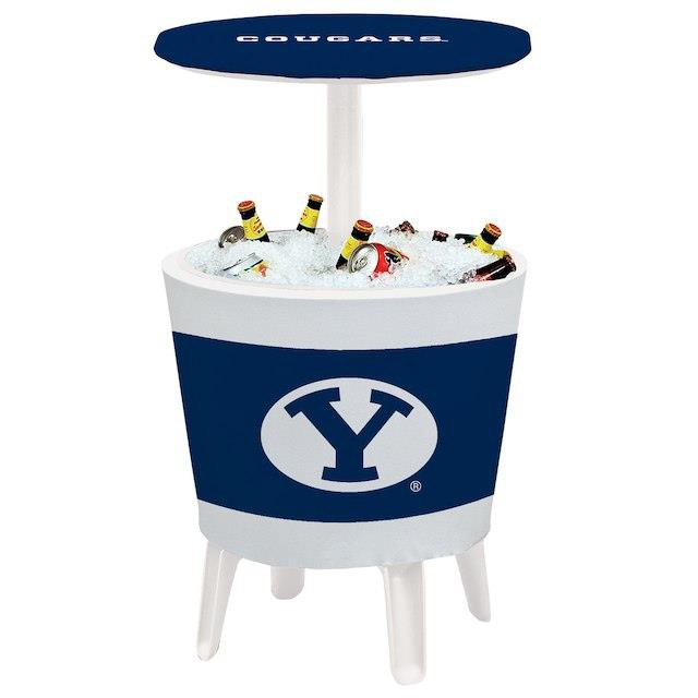 気質アップ Victory Corps. ビクトリー コープス スポーツ用品 BYU Cougars Team Logo Four Season Event Cooler Table, 安芸郡 e4a5ccd0