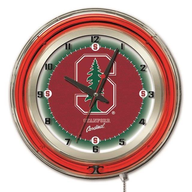 人気ブランドを Holland Bar Stool Co. ホランド バー スツール スポーツ用品 Stanford Cardinal 19 Neon Wall Clock, いりえフルーツ b8c76f2c