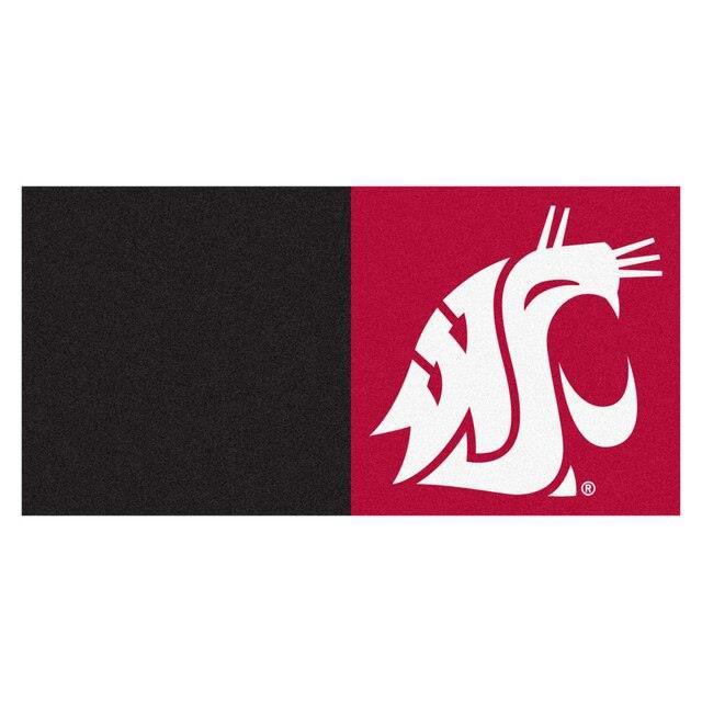 【メーカー包装済】 Fan Mats ファン マット スポーツ用品 Washington State Cougars 20-Piece 18 x 18 Team Carpet Tile Set, 美と健康の専門店 トキワドラッグ 912b9dcb