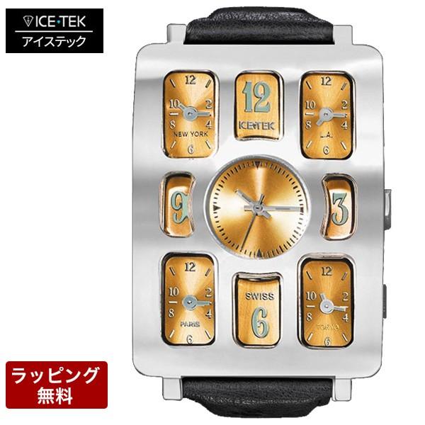 独特な店 アイステック 腕時計 ICE TEK アイステック 決済 腕時計 Steel Quintempo1 スチールクインテンポ1 Gold 5TZ1-ST-7, アクアライト 586e17cc