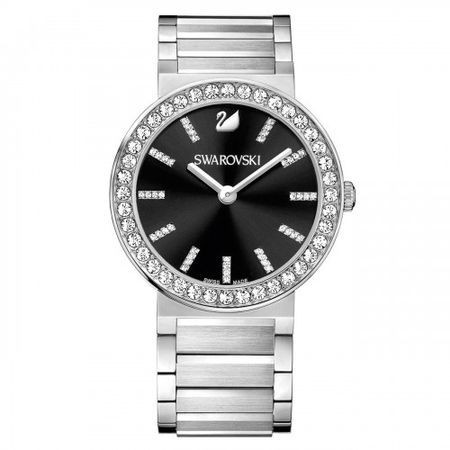 一流の品質 スワロフスキー Swarovski 腕時計 Citra Sphere - Black, metal 1185828, 田原本町 86a70470