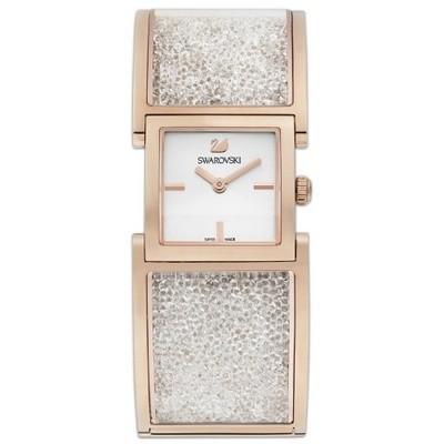 新着 スワロフスキー Swarovski 腕時計 Crystalline Bangle - rose gold, crystal ウォッチ 5027138, ヤツオマチ 410d0b7f