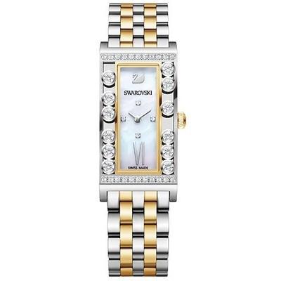 低価格で大人気の スワロフスキー Swarovski 腕時計 Lovely Crystals Square /Yellow Gold Tone ウォッチ 5096689, 生活優悠shop 6ca4310c