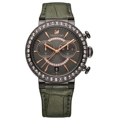 【おすすめ】 スワロフスキー Swarovski 腕時計 Citra Sphere Gun Metal Tone ウォッチ 5122040, タガミマチ 37fa0024