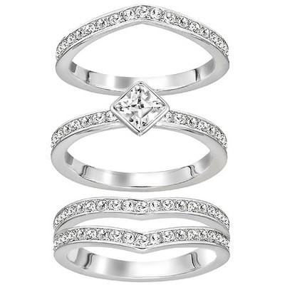 割引購入 スワロフスキー 指輪 『Alpha Swarovski リング』 5221375-指輪・リング