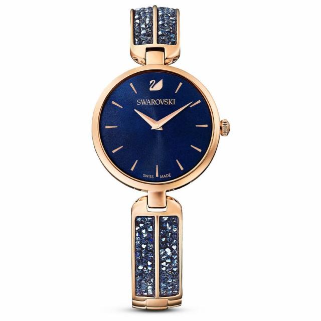【年中無休】 スワロフスキー Swarovski 腕時計 Dream Rock ウォッチ ブルー/ローズゴールド 5519317, 【通販激安】 693ed2dc