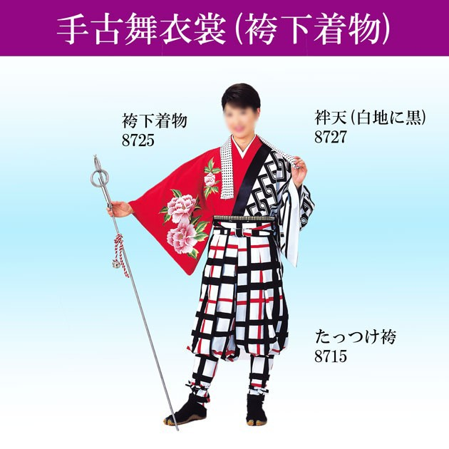 最終決算 踊り用 袴下着物 赤 椿 ツバキ よさこい衣装 てこまい 手古舞, 比企郡 4c7f70a9