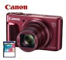 代引き人気 今ならSDHCカード8GB付き【送料無料】Canon・キヤノン SX720 光学40倍ズームデジカメ PowerShot レッド【***特別価格***】 HS-カメラ