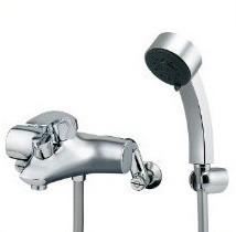 【保障できる】 カクダイ シングルレバーシャワー混合栓 143-012 混合水栓, 山有商店 2403c7d9