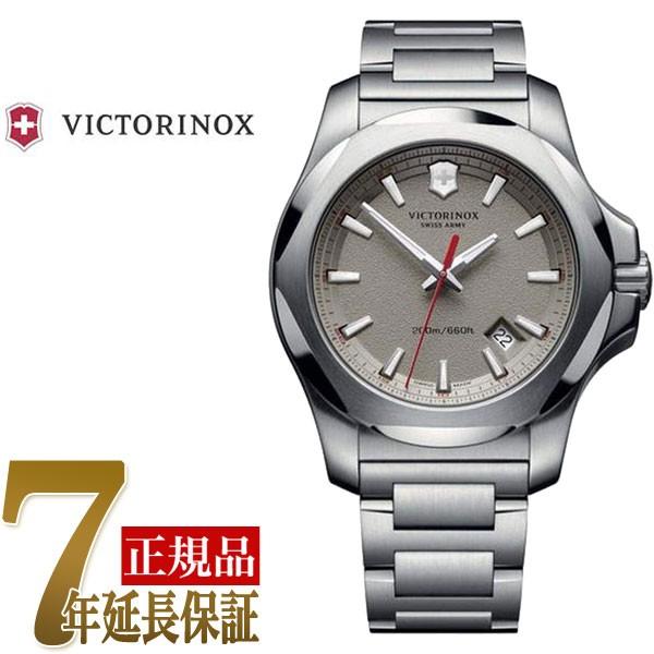 激安通販新作 【VICTORINOX】ビクトリノックス INOX STEEL イノックス スチール INOX メンズ グレー 腕時計 STEEL アナログ クォーツ グレー シルバー 241739, トップカメラ:607b2d9b --- 1gc.de