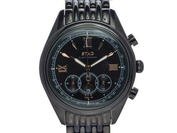 交換無料! 【STAG】スタッグ Executive Executive Line メンズ腕時計 メンズ腕時計 ブラックダイアル STG008B1 STG008B1, アラカワマチ:81729557 --- chevron9.de