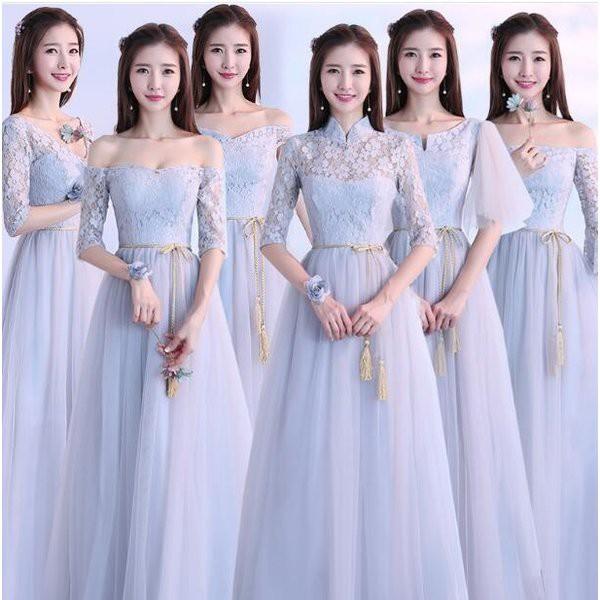 ロングドレス 人気新作 二次会ドレス お花嫁 パーティードレス  ナイトドレス ワンピース ウエディングドレス 演奏会 発表会