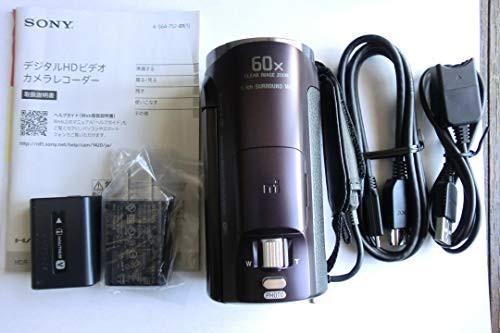 格安即決 SONY ボルドーブラウン 光学30倍 Handycam HDビデオカメラ HDR-CX670 HDR-C(良品)-ビデオカメラ