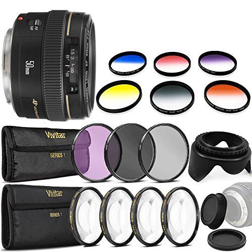 ベストセラー EF 50?mm Canon / SLR 1.4?USM標準レンズfor Cameras???固定レンズ(良品) Canon f-カメラ